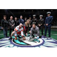 Rochester Knighthawks Military Appreciation Faceoff
