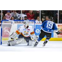 Max French Scores the shootout winner against the Colorado Eagles