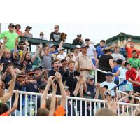 Fans enjoy the Jackson Generals