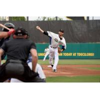 RHP Jake Hale with the Sugar Land Skeeters