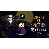 Fresno Grizzlies Halfway to Halloween uniforms