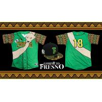Fresno Grizzlies Coming to Fresno uniforms