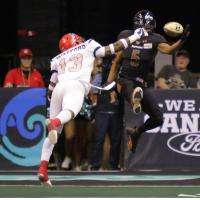 Arizona Rattlers Receiver Anthony Amos vs. the Sioux Falls Storm