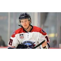 Forward Cameron Burke with the Central Illinois Flying Aces