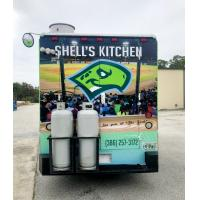 Daytona Tortugas Shell's Kitchen food truck - back
