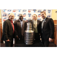 The Stanley Cup visits the Kalamazoo Wings