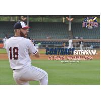 Evansville Otters Pitcher Kyano Cummings