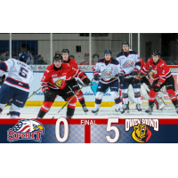 Saginaw Spirit vs. the Owen Sound Attack