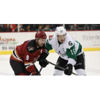 Tucson Roadrunners Forward Mike Sislo vs. the Texas Stars