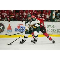 Forward Kevin Irwin with the University of Vermont