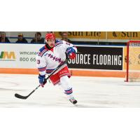 Riley Damiani of the Kitchener Rangers
