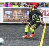 Milwaukee Wave Midfielder Ian Bennett