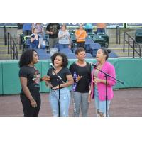 York Revolution national anthem singers