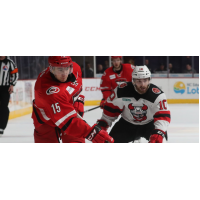 Charlotte Checkers Center Nicolas Roy vs. Binghamton Devils Center Austin Cangelosi