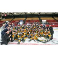 University of Alberta Golden Bears celebrate 2018 U SPORTS Cavendish Farms University Cup