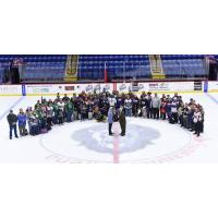 Yannick Tifu, Pat Kelly, the Reading Royals and fans