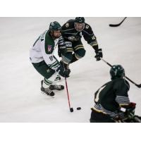 Defenseman Jake Faiella with Ohio University