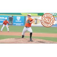 Long Island Ducks Pitcher Matt Marsh
