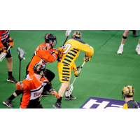 Jordan Hall of the Georgia Swarm vs. the Buffalo Bandits