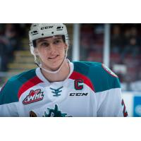 Cal Foote of the Kelowna Rockets