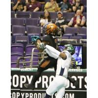 Jamal Miles of the Arizona Rattlers vs. the Nebraska Danger