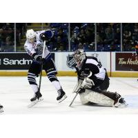 Vancouver Giants Goaltender Trent Miner vs. the Victoria Royals