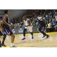 Santa Cruz Warriors Forward Terrence Jones vs. the Reno Bighorns