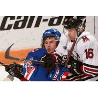 Kitchener Rangers battle the Guelph Storm