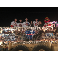 Colby Robak and Co. at the Lodi Parade of Lights