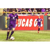 Louisville City FC controls the ball vs. the Tampa Bay Rowdies