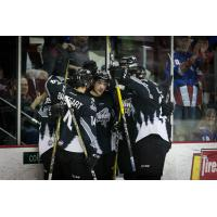Idaho Steelheads exchange congratulations