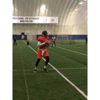 Albany Empire Quarterback Tommy Grady at practice