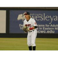 Tucker Neuhaus of the Carolina Mudcats