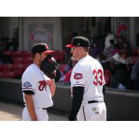 Carolina Mudcats Pitcher Jon Olczak and Manager Joe Ayrault talk strategy
