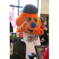 Syracuse Chiefs Mascot Cicero at Chick-fil-A