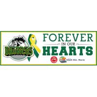 Humboldt Broncos 'Forever in our Hearts' Rinkboard