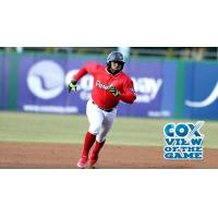 Pawtucket Red Sox Right Fielder Rusney Castillo