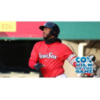 Jeremy Barfield of the Pawtucket Red Sox