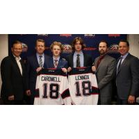Saginaw Spirit Signees Ethan Cardwell and Tristan Lennox