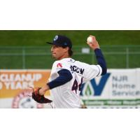 Lakewood BlueClaws pitcher Connor Brogdon