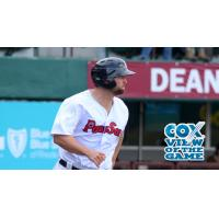 Sam Travis of the Pawtucket Red Sox