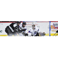 Manchester Monarchs test Reading Royals goaltender John Muse
