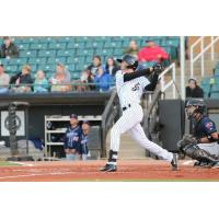 Jackson Generals outfielder Ben DeLuzio swings for the fences