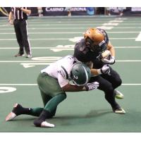 Arizona Rattlers running back Dylan Peebles vs. the Green Bay Blizzard
