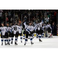 Idaho Steelheads celebrate playoff comeback