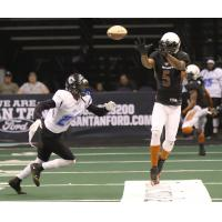 Anthony Amos of the Arizona Rattlers vs. the Cedar Rapids Titans