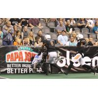 The Arizona Rattlers usher the Cedar Rapids Titans into the boards