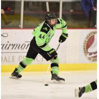 Jacob Perreault with Chicago Mission U16 team
