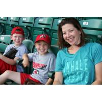 Fans at an Arkansas Travelers game