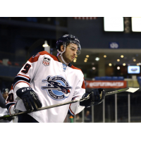 Defenseman Corson Green with the Central Illinois Flying Aces